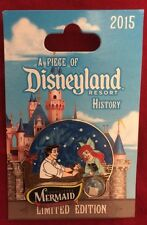Disney Piece of History 2015 Pin ARIEL ERIC KISS GIRL Little Mermaid POH LE 2000