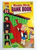 Vintage 1974 RICHIE RICH  BANK BOOKS #14 comic book Harvey Comics