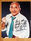 Edward Asner actor 10x8 colour signed autographed photograph Elf