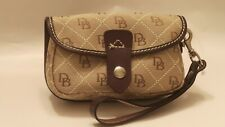 Dooney & Bourke Quilted Wristlet with Leather Accents