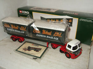 Corgi 14301 Foden S21 Artic Trailer for Eddie Stobart & 2 Containers 1:50 Scale