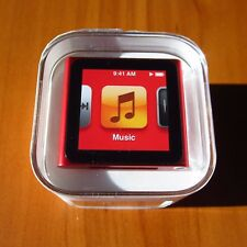 SPECIAL TODAY Apple iPod nano 6th Generation Red (8 GB) NEW SEALED