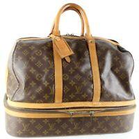 LOUIS VUITTON SAC SPORT Boston Travel Bag Purse Monogram M41444 JUNK