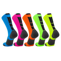 TCK Baseline 3.0 Elite Home Team NEON Body Basketball Football Crew Socks