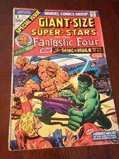 Marvel Fantastic Four Special #1 Giant Super Stars Thing Vs Hulk Classic! BV $90