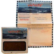 Enveloppe + courrier 1926 Lustucru Cartier-Millon pâtes alimentaires timbre