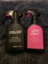 Lush snow fairy body spray and roller body spray both discontinued rare