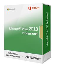 Microsoft Visio Professional 2013 - Neu & Original - Vollversion - BLITZVERSAND
