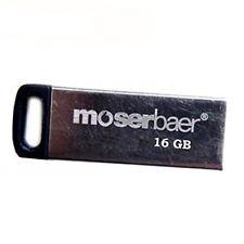 Moserbaer Atom16GB Grey Colour Metal PenDrive