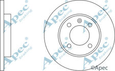 FRONT BRAKE DISCS (PAIR) FOR VW CADDY GENUINE APEC DSK197