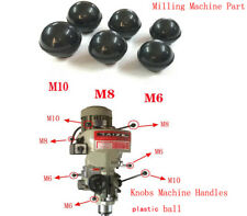 Milling Machine Part Plastic Ball Knobs Machine Handles M10 M8 M6 Bore 5PC
