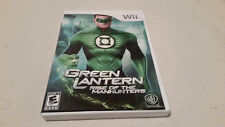 Green Lantern: Rise of the Manhunters (Nintendo Wii, 2011) COMPLETE