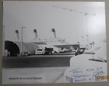 8X10 PICTURE OF THE TITANIC AS IT SITS IN ROSARITO MEXICO JAMES CAMERON