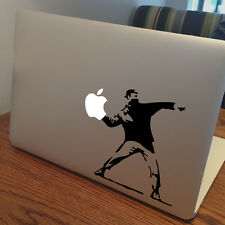 "BANKSY Apple MacBook Decal Sticker fits 11"" 12"" 13"" 15"" and 17"" models"