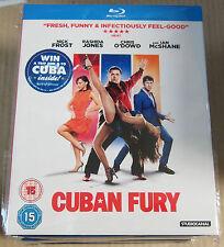 Cuban Fury   (with slip case)(Very Good)(UK Blu Ray) Free Postage