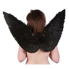 Poizen Industries Angel Wings Black Fancy Dress Gothic New Emo Punk