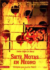 SIETE NOTAS EN NEGRO (DVD PRECINTADO)  GIALLO TERROR DE CULTO LUCIO FULCI
