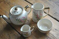 Vintage Sadler Tea set - Pretty Pink Flowers  1849PR