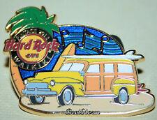 2012 Hard Rock Cafe Waikiki Hawaii Pintage Event Pin Woody Wagon Surfboard LE300