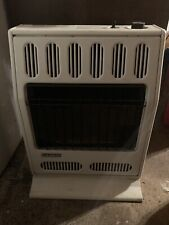 Gas heater vent free