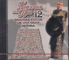 Yolanda Del Rio 12 Grandes Exitos CD New Nuevo Sealed