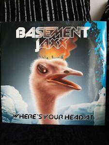 "Basement Jaxx – Where's Your Head At Vinyl 12"" Single XLT 140 2001"