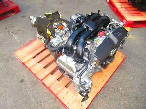 11-16 SUBARU IMPREZA XV CROSSTREK 2.0L ENGINE CVT AUTOMATIC TRANSMISSION FB20