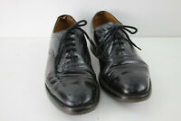 LOAKE Dainite Sole Black Leather Lace Up Oxford shoes size 7