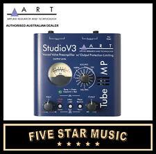 ART TUBE MP STUDIO V3 MICROPHONE PREAMPLIFIER VALVE MIC PRE NEW A.R.T. PRO AUDIO