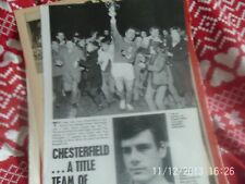 chesterfield young lions holmes & fenoughty + arsenal peter marinello B+W A4
