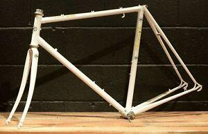 RARE 1995 3Rensho Road Frameset 54.5 cm Pearl White Road Bicycle Bike