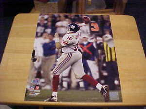 """Eli Manning """"THE PASS"""" Super Bowl XLII LICENSED 11X14 Photo Includes Top Loader"""