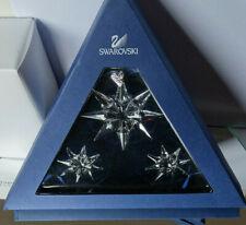 SWAROVSKI Weihnachtsstern Annual Ed.2009 Christmas Xmas Ornaments SET 996500 OVP