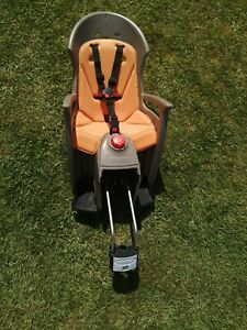 Child bike seat Hamax reclines used good condition