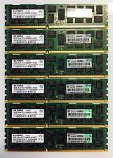 HP Z600 Z800 48 Go (6x8GB) 500205-071 PC3-10600R Ecc DDR3-1333MHz