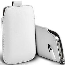 """White PU Synthetic Leather Pouch Sleeve Protective Case for iPhone 6 6G 4.7"""""""