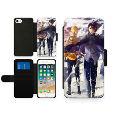 Anime Naruto Shippuden Japan Hard Wallet Flip Phone Case Cover