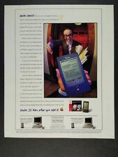 1994 Apple Newton MessagePad 110 PDA vintage print Ad
