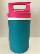 Vintage Igloo Playmate Half Gallon Hot Pink Neon Teal 90's NEVER USED