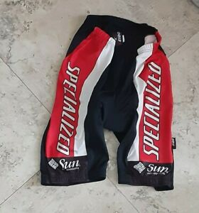 Vintage Specialized Bike Compression Cycling Shorts Medium Black Made in Italy