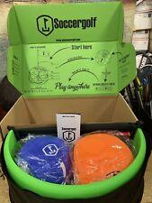 New Soccergolf Footgolf Playing Set Pelota Outdoor or Indoor play!