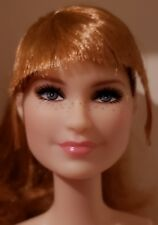 NUDE AUBURN HAIRED BARBIE JURASSIC WORLD CLAIRE BRYCE DALLAS HOWARD DOLL