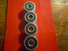 4 roulements roue skate board