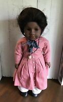 Vintage 1993 Addy African American American Girl Doll 1st version Meet Outfit