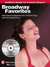 Broadway Favorites - Audition Songs for Female Singers: Piano/Vocal/Guitar Arran