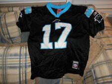 Carolina Panthers black Delhomme youth jersey #17 sz L (14-16)