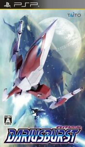 darius burst PSP Taito Sony PlayStation Portable From Japan