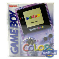 1 x Game Boy Color Box Protector for Console STRONG 0.5mm Plastic Display Case