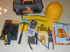 Kids tool set/ construction kit- Kids size tools 4 kids size hands!! Real Tools!