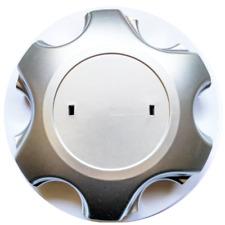 WHEEL HUB CAP TOYOTA LANDCRUISER 120 series (135 mm) plus free bonus
